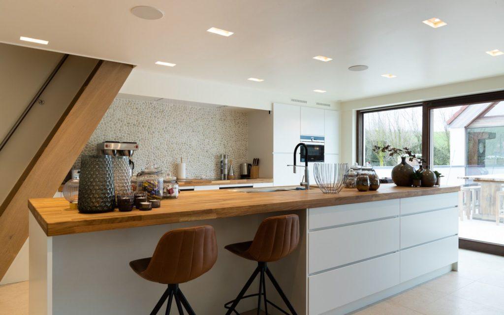 Le Coeur de la Mer vakantiewoning - moderne keuken met alle comfort