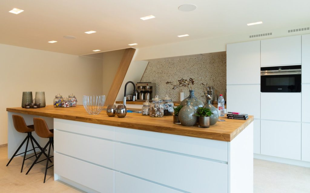Le Coeur de la Mer vakantiewoning - moderne keuken