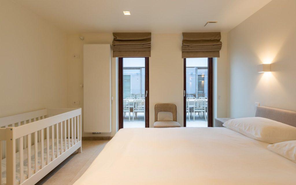 Le Coeur de la Mer vakantiewoning - dubbel bed - met kinderbed